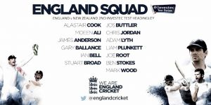 England Cricket name squad for Second Test