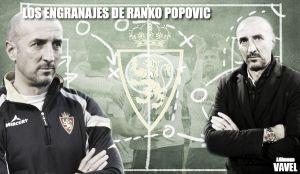 Los engranajes de Ranko Popovic: CD Mirandés - Real Zaragoza