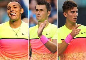Kyrgios and Kokkinakis Hide Tomic From The Spotlight