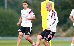Pepe regresó al entrenamiento con el grupo
