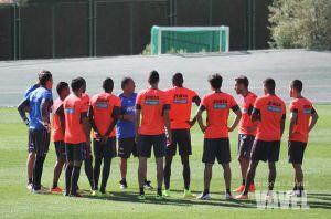 La plantilla del Granada CF descansará hasta el miércoles
