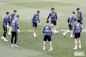 El Madrid prepara el partido ante el Sevilla