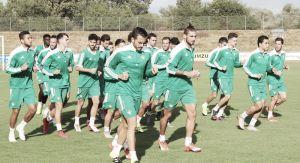 Primer entrenamiento del Real Betis en tierras alemanas