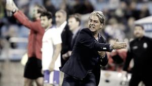 """Natxo González: """"Ellos están siendo muy fuertes en casa, va a ser un partido con mucha intensidad"""""""