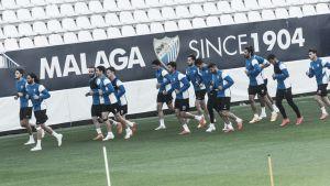 Entrenamiento a tres días del Santiago Bernabéu