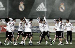 El Real Madrid completó la tercera jornada de entrenamientos