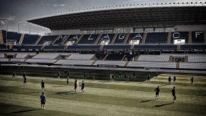 El Málaga CF se ejercita por última vez
