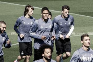 Último entrenamiento antes de recibir al Atlético