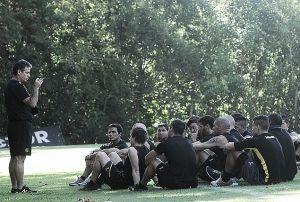 Primer entrenamiento de Peñarol en 2015