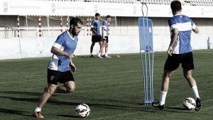 El Málaga se ejercita con la mira puesta en el Levante