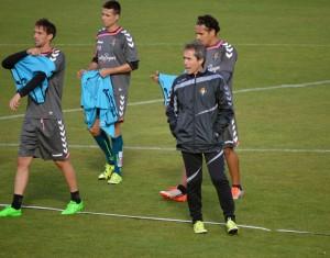 Alfaro, Mojica y Diego Rubio no se entrenan