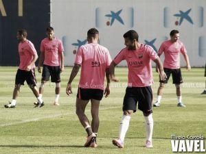 Último entrenamiento pensando en el Atlético