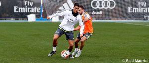 El Madrid completó la tercera sesión de entrenamientos