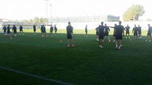 Plan de entrenamientos del Albacete Balompié
