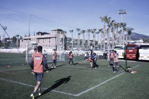Success, otra ausencia en el último entrenamiento del Granada en Marbella