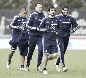 Welliton, Augusto y Álex entrenaron al margen del grupo