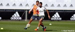 Nueva sesión de entrenamiento en la Ciudad Real Madrid