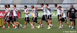 Vuelta a los entrenamientos del Real Madrid