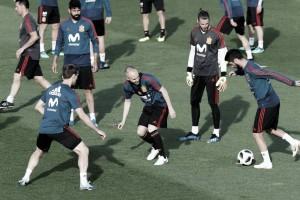 'La Roja', al completo con los campeones de Europa