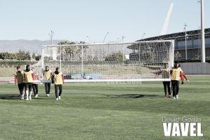 El Almería vuelve este lunes al trabajo para hacer frente a una semana con dos partidos