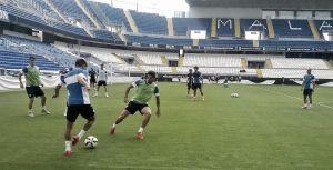 El Málaga prepara la última cita liguera