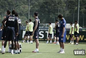 El Dépor completó su entrenamiento con Luisinho, Kaká y Núñez al margen del grupo