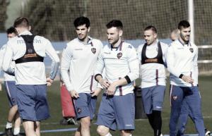 Sigue la preparación contra el Sevilla Atlético