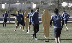 La plantilla granota prepara el duelo ante el Sevilla