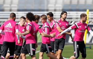 Segundo entrenamiento del Madrid con el Levante en el horizonte