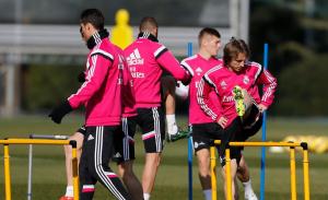 Nuevo entrenamiento del Madrid para preparar el choque frente al Elche