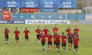 El equipo empieza a preparar el partido del domingo en Riazor