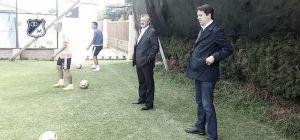 El presidente Enrique Camacho se reunió con Lunari y el equipo