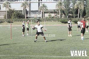 El Almería entra en la recta final de la preparación del partido ante el Athletic de Bilbao