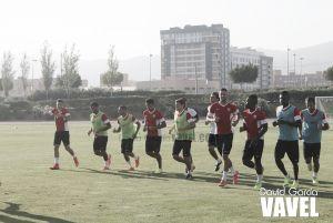 Sesión de recuperación tras la victoria en Anoeta