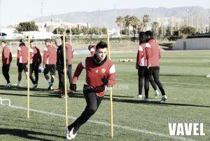 La intensidad predomina en la cuarta sesión del Almería