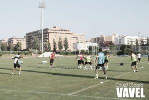 El Almería trabajó este miércoles en doble sesión y al completo
