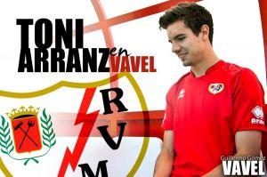 """Entrevista. Toni Arranz: """"El Rayo Vallecano significa todo para mí"""""""