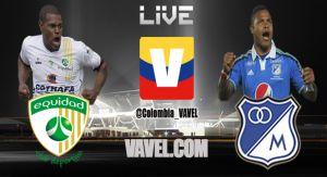 Equidad vs Millonarios, Liga Postobón en vivo online
