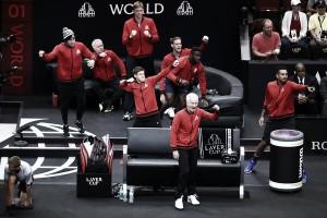 Día 2 de la Laver Cup: el Resto del Mundo sigue dando pelea