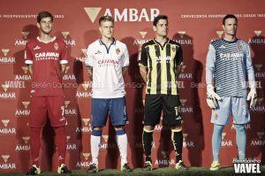 El Real Zaragoza presenta sus nuevas equipaciones