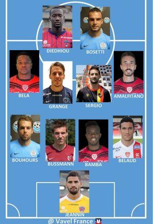 Ligue 2 : Equipe Type de la 4ème journée