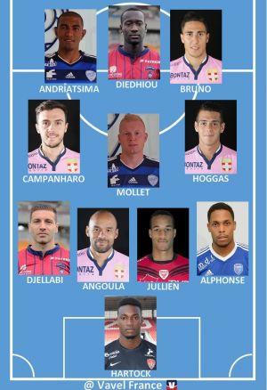 Ligue 2 : Equipe Type de la 6ème journée
