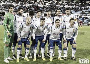 Real Zaragoza - Recreativo de Huelva: puntuaciones del R. Zaragoza, jornada 22