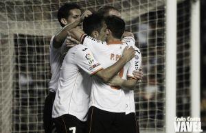 Valencia - Espanyol: puntuaciones del Valencia, jornada 21