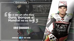 """Entrevista. Eric Granado: """"Va a ser un año muy duroporque el Mundial no es fácil"""""""