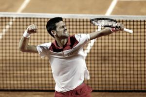 Novak Djokovic bate Kei Nishikorie encara Nadal nas semis em Roma