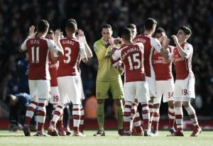 L'Arsenal soffre ma vince, 2-0 all'Everton