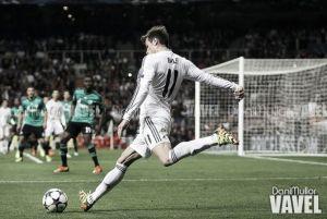 Bale, baja ante el Liverpol, duda ante el Barça