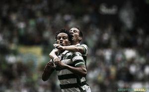 El Sporting sufre con uno menos y empata ante Paços de Ferreira
