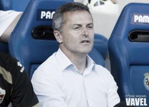 """Fran Escribá: """"Tenemos la obligación de ir a ganar, aún así el empate sería un gran resultado"""""""